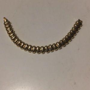 """Vintage gold tone links bracelet 6.5"""""""